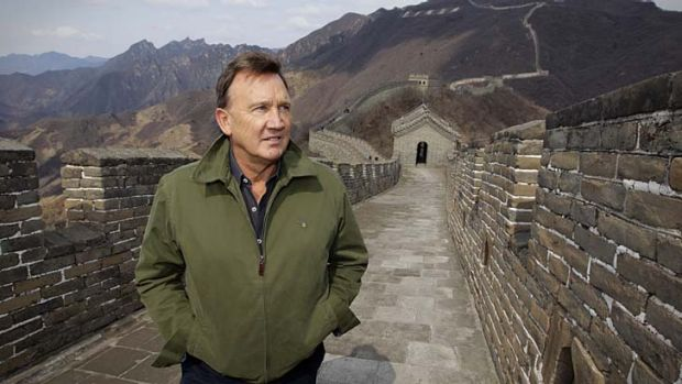 Tim Mathieson visited the Great Wall at Mutianyu near Beijing as an offical guest of the Chinese Government.
