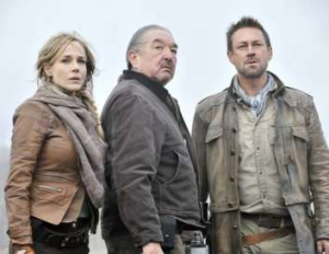 The Defiance TV series stars Aussie Grant Bowler in the lead role.