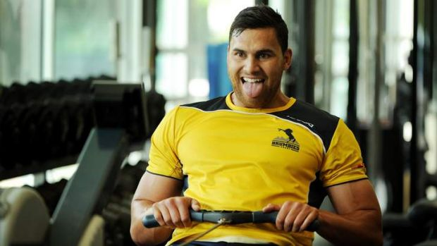 Jordan Smiler is part of the Brumbies extended player squad program, but will start at blindside flanker against the ...