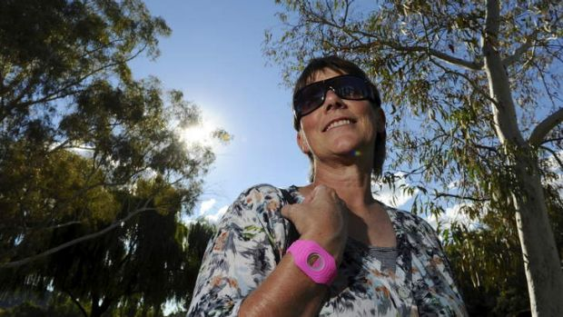 Dr Robyn Lucas, Associate Professor at the ANU College of Medicine, Biology and Environment wearing a watch which ...