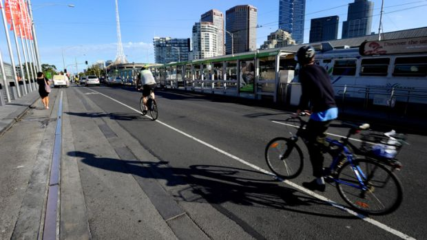 Cars may have to make way for bicycles.