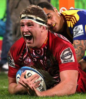 Reds' 2012 Player of the Year: James Slipper.