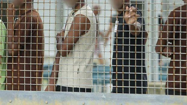 Services company Serco have warned of the threat of violence at the Christmas Island detention centre.