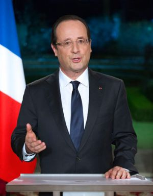 She's just not that into you: Women less knowledgeable about politicians, a new study says.  Pictured: French President ...