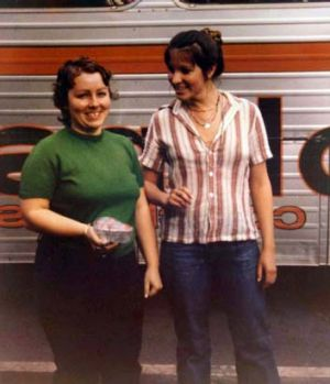 Murder victims: Lorraine Wilson and Wendy Evans.