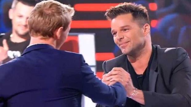 Luke and Ricky, who is happier? ... <i>The Voice</i>
