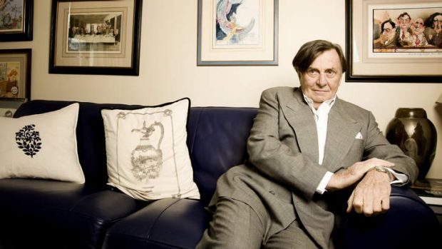 Return to Weimar: Barry Humphries at home in London.