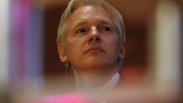 'Perhaps Assange is paranoid? Wouldn't you be?'