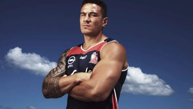 Let the game begin: For Sonny Bill Williams, Friday's match against former club, the Bulldogs, is ''just another game''.