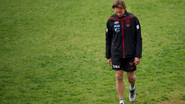 James Hird yesterday.