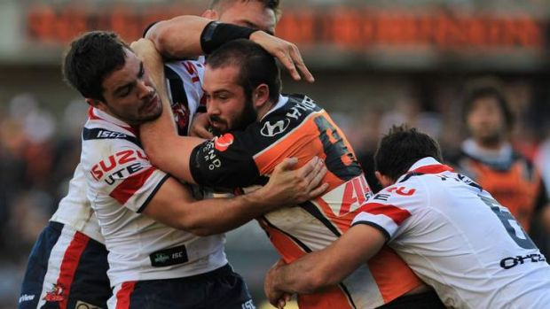 Time is now: Tigers prop Aaron Woods has ambitions to play at rep level, saying: ''If they're not your goals then what ...