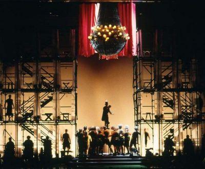 Peter Corrigan theatre set design.