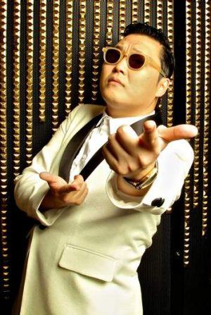 Korean pop sensation Psy.