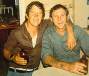 """Left: Allan John Laurie (Shorty) was seen travelling with the two women and named as one of the men involved in the """" ..."""