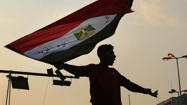 Egypt uprising: Different results were returned in Google searches.