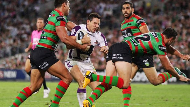 Full schedule: Billy Slater of the Storm.