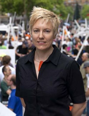 A need for reassurance: Greens MP and environment spokeswoman Cate Faehrmann.