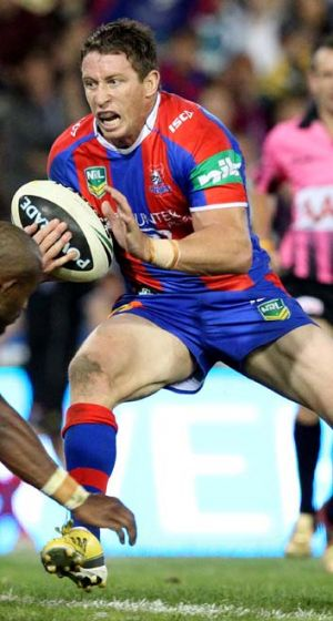 Back in action: Newcastle's captain Kurt Gidley has earnt a recall to the Australian squad.