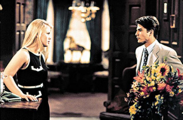 An early scene from Days of our Lives.