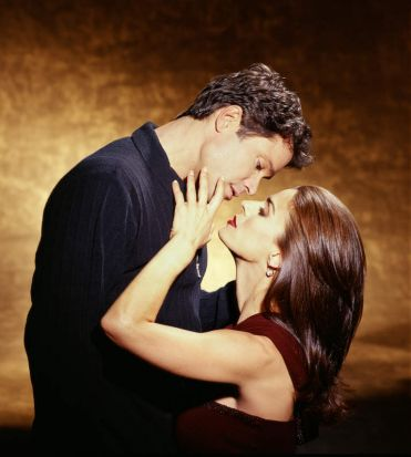 Peter Reckell and Kristian Alfonso in <i>Days Of Our Lives</i>.