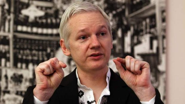 WikiLeaks Party founder Julian Assange is running for the Australian Senate from inside the Ecuadorian Embassy in London.