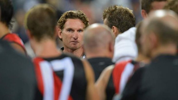 Backed by the Essendon faithful: James Hird.