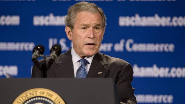 George W. Bush: 'Of course, some people are surprised I can even read.'