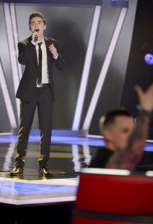 <i>The Voice</i> contestant Harrison Craig has a lot of supporters.