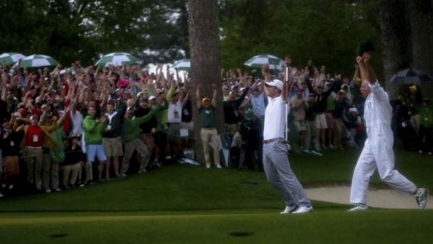 Couldn't have scripted it better myself: Adam Scott winning at Augusta was just reward for a good bloke.
