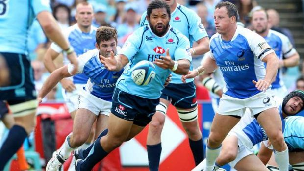 Balls in his court: Tatafu Polota-Nau has been told to step up against the Chiefs.