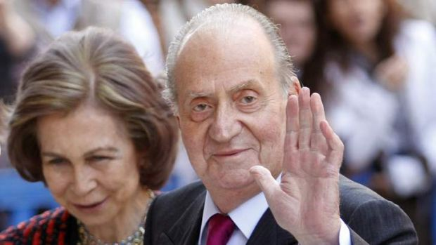 Spain's King Juan Carlos and Queen Sofia. The queen took legal action after a doctored image of her was used in a dating ...