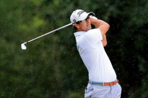Getting to know you ... US masters champion Adam Scott has opened up about  Tiger Woods, Jack Nickalus, the prospect of ...