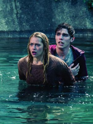 Romeo and Juliet and zombies: Teresa Palmer stars with Nicholas Hoult in <em>Warm Bodies</em>.