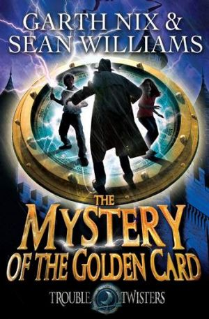 The series, <i>Troubletwisters</i>, has just had its third instalment, <i>The Mystery of the Golden Card</i>, published.