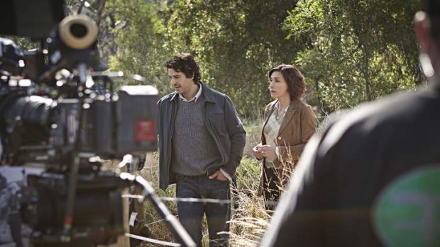 Don Hany and Claudia Karvan star in the telemovie of Peter Temple's novel <i>The Broken Shore</i>.
