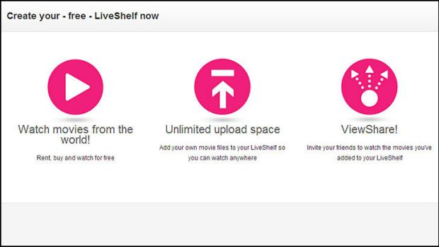 Voddler LiveShef: Legal file-sharing for movies.