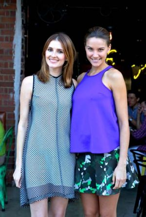 Date with Kate: Kate Waterhouse and model Rachel Finch.