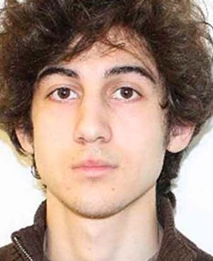 Dzhokhar Tsarnaev, 19, the surviving Boston bombings suspect.