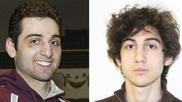 Allegedly altered plans: Tamerlan and Dzhokhar Tsarnaev.