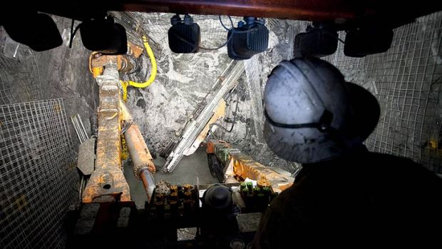 The mining sector is propping up the Queensland economy.