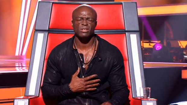 Heartfelt: Seal, mentor on The Voice. The live shows start tonight in a new Monday timeslot.
