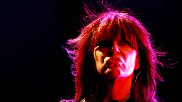 Chrissy Amphlett: 'It's shit and it's unfair, but life is not fair - even rock stars get breast cancer.'