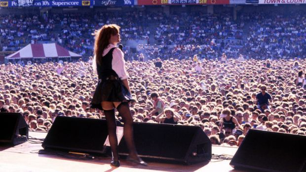 Chrissy Amphlett kept the rock world on its toes.