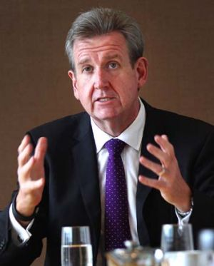 NSW Premier Barry O'Farrell: Wine not declared.