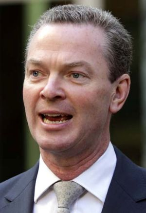 History wars: Christopher Pyne reopens debate.