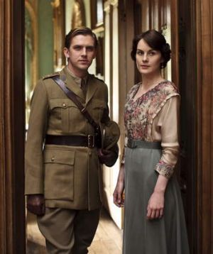 New beginnings ... The love interest between Matthew and Lady Mary has been central to the show for three years.
