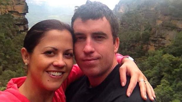 Fatal end to relationship: Kate Malonyay and Elliot Coulson.
