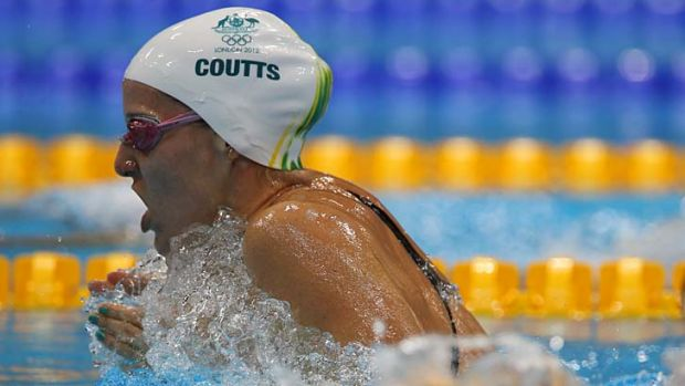 Short and sweet: Olympian Alicia Coutts has regained her spark for swimming.