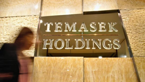 Temasek is also an active player in the Australian property market with billions in assets.