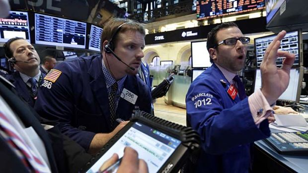 Wall Street ... the hoax tweet briefly wiped out about $130 billion in market value.